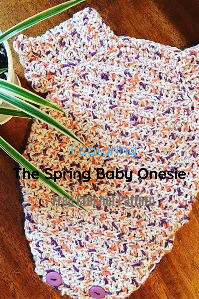 Light And Soft Crochet Onesie That Works Up Fairly Quick