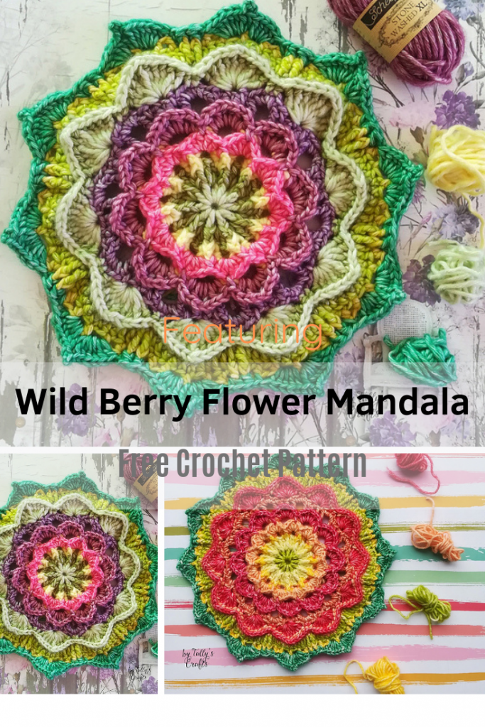 Really Beautiful Mandala Flower Crochet Pattern