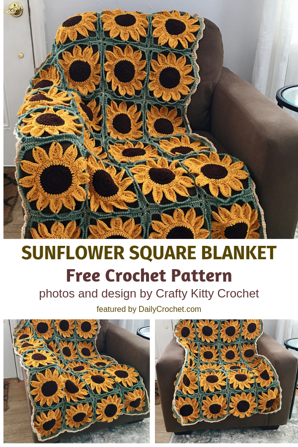 This Sunflower Blanket Is The Perfect Gift To Bring Joy To Someone's Day