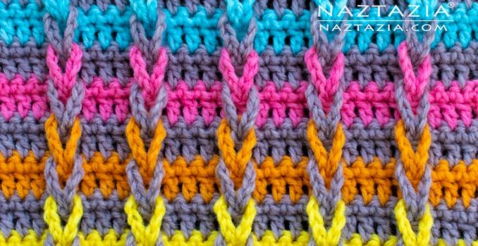 Learn A New Crochet Stitch Jacob S Ladder Stitch Knit And Crochet