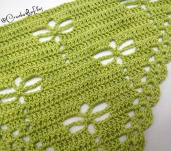 free crochet triangle shawl patterns Archives - Knit And