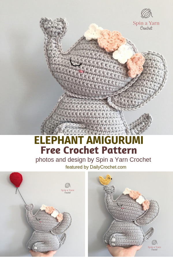 Sweetest Crochet Elephant Pattern To Decorate Your Baby's Nursery