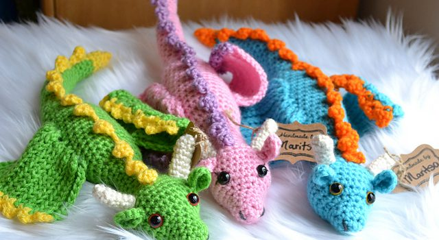 Paid Pattern Graceful Crochet Dragon Free Pattern To Bring Fantasy
