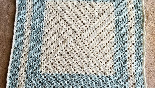 Mindless Baby Blanket Pattern With Such A Unique Design