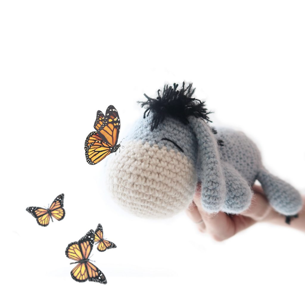 Eeyore Amigurumi Free Crochet Pattern. Thanks for noticin' me!