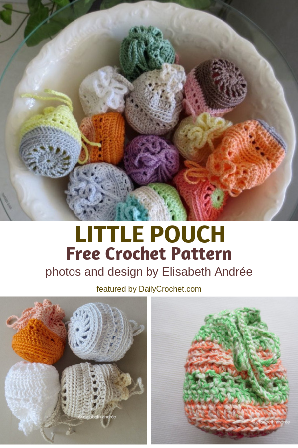 Little Pouch Free Crochet Pattern-Inexpensive, Pretty, And Quite Handy!