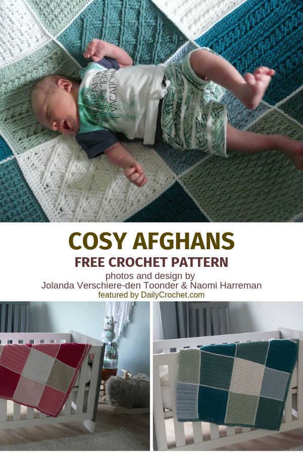 This Crochet Sampler Afghan Is An Easy Pattern To Take On The Go