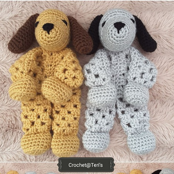 PAID PATTERN Adorable Free Crochet Puppy Lovey Pattern ...