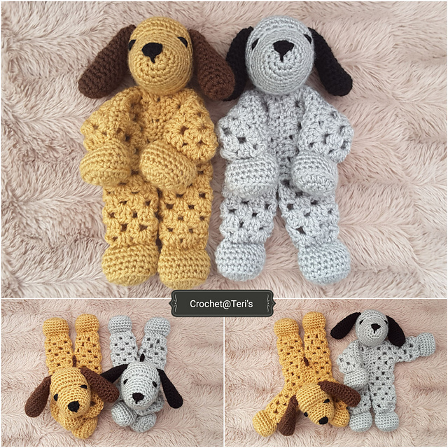 Adorable Free Crochet Puppy Lovey Pattern Will Give You Hours Of Fun