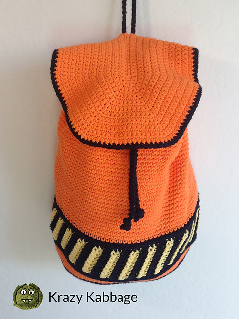Backpack Crochet Free Pattern You Will Love