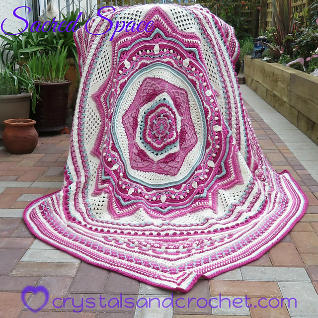 This Creative Crochet Blanket Pattern Is Simply Magnificent