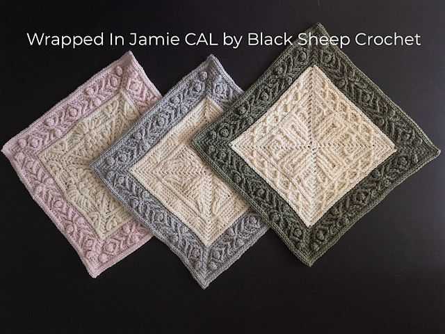 Modern Crochet Squares For A Gorgeous Blanket