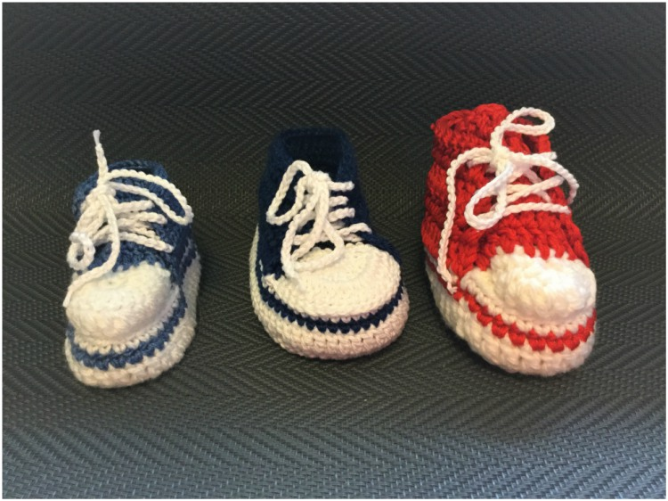 Easy Baby Converse Crochet Pattern Will Turn You Into A Crochet Addict