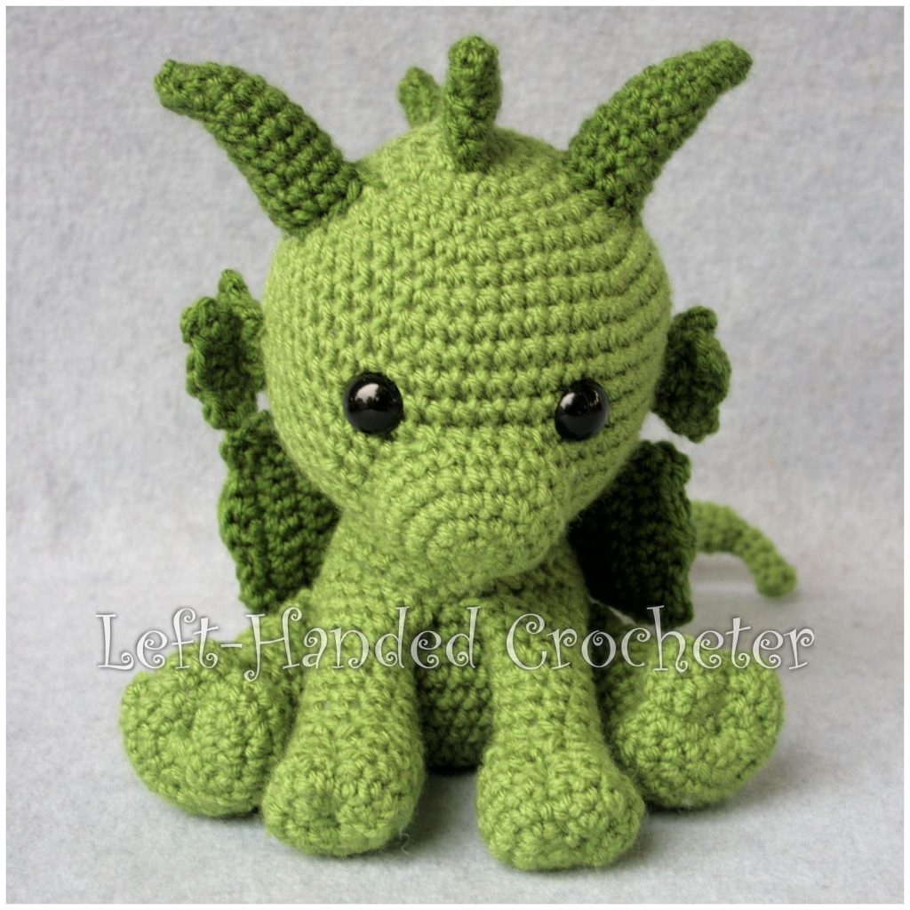 Cute Little Dragon Free Crochet Pattern