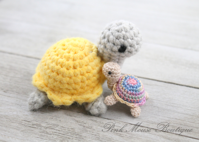 Teeny Tiny Turtle Crochet Pattern