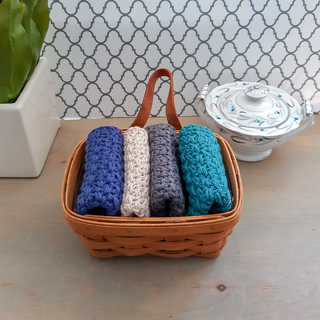 Modern Farmhouse Dishcloth Is Quick And Easy To Make