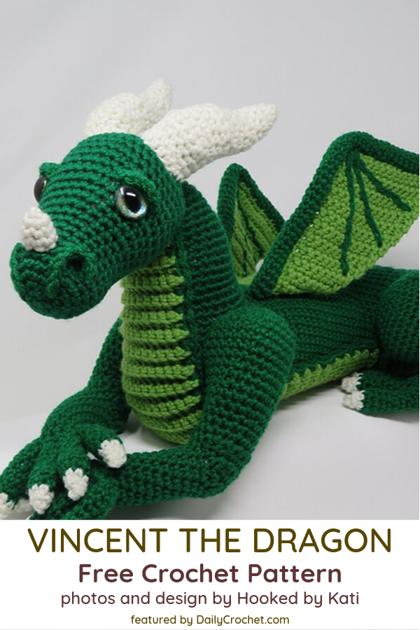 Amazing Large Dragon Crochet Pattern