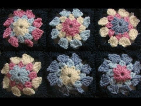 Video Tutorial This Very Easy Granny Square Blanket Is