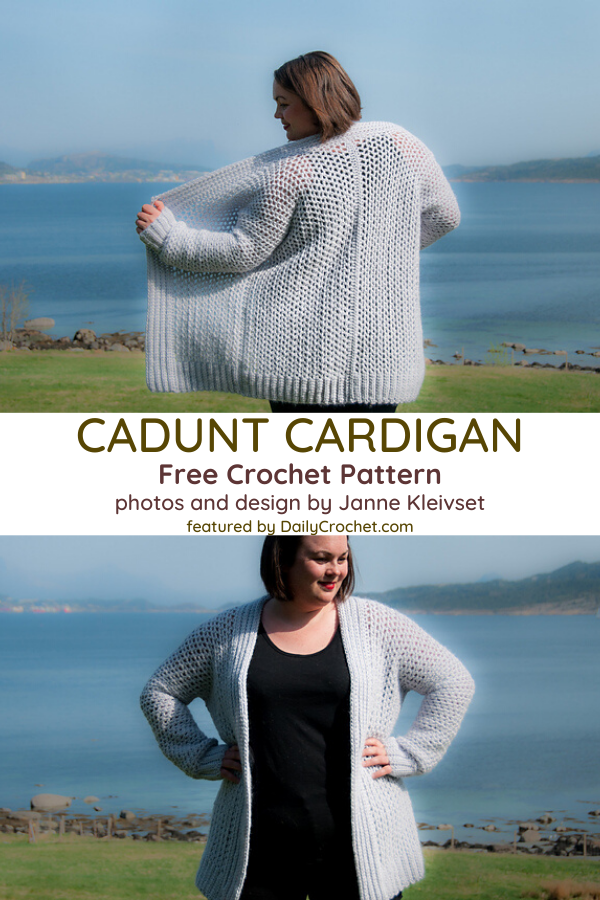 Easy Classic Cardigan Crochet Pattern That You'll Never Get Tired Of