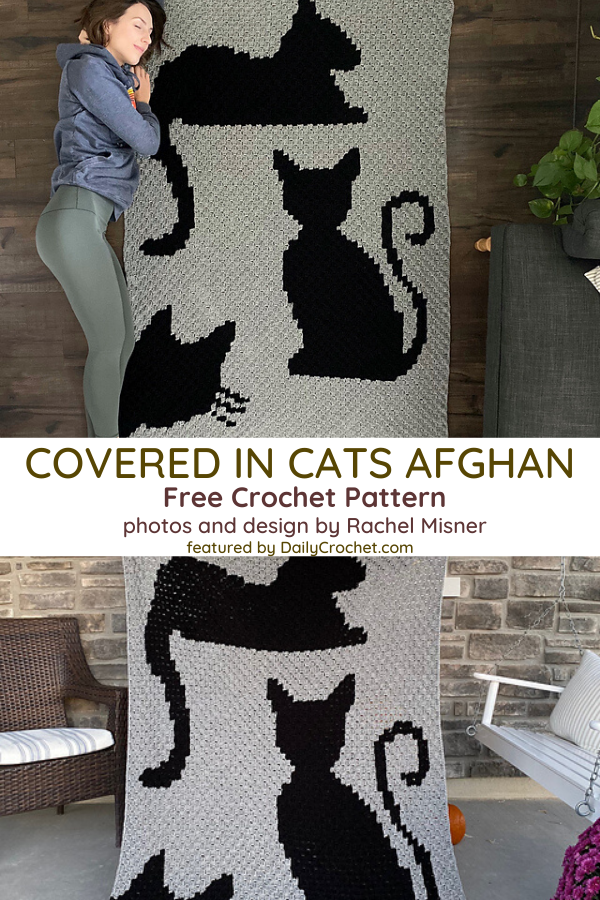 Cat Silhouette Crochet Pattern For All Cat Lovers