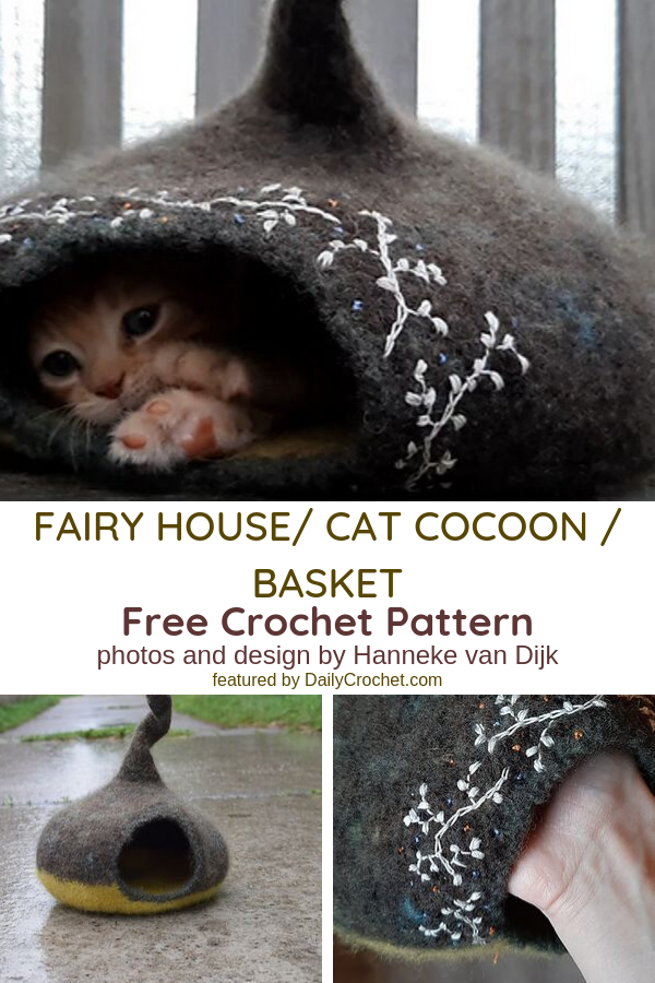 This Cat House Crochet Pattern Is So Cool!