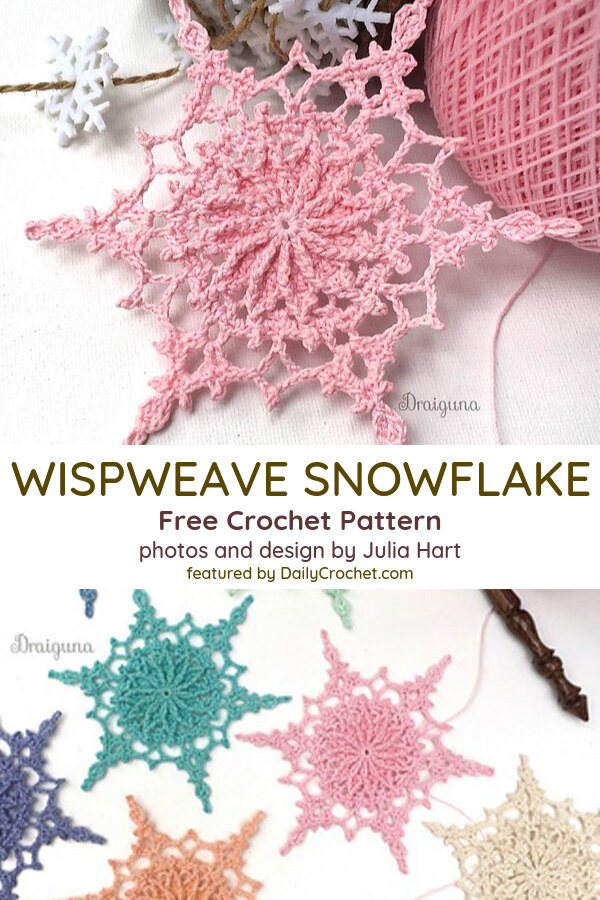 Free Snowflake Crochet Pattern To Impress Your Dear Ones!