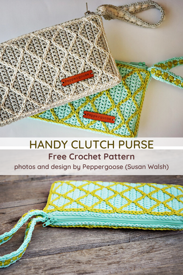 Handy Clutch Purse Crochet Pattern