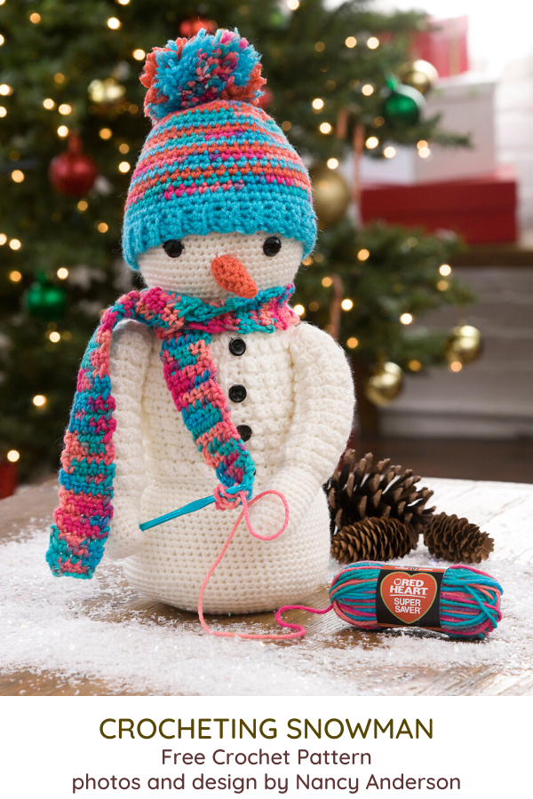 Amigurumi Snowman Free Crochet Pattern - Craft ideas for adults ... | 900x600