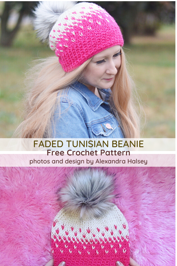 Tunisian Crochet Hat Pattern For Beginners