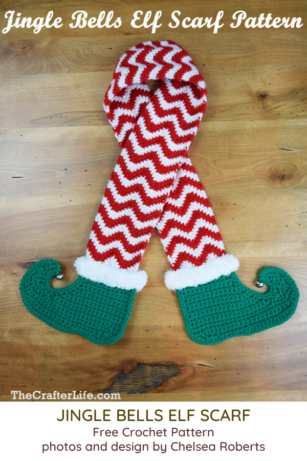 Creative And Funny Elf Scarf Crochet Pattern