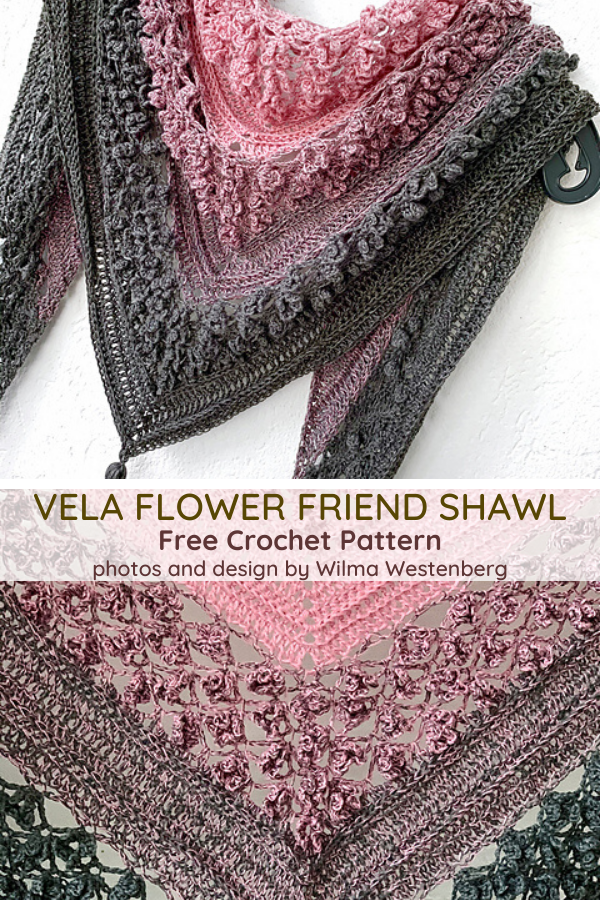 Amazing Crochet Flower Stitch Shawl