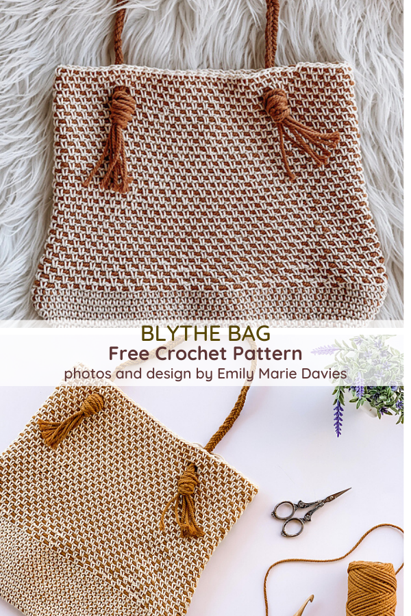 Crochet Grocery Bag- Spacious And Trendy!