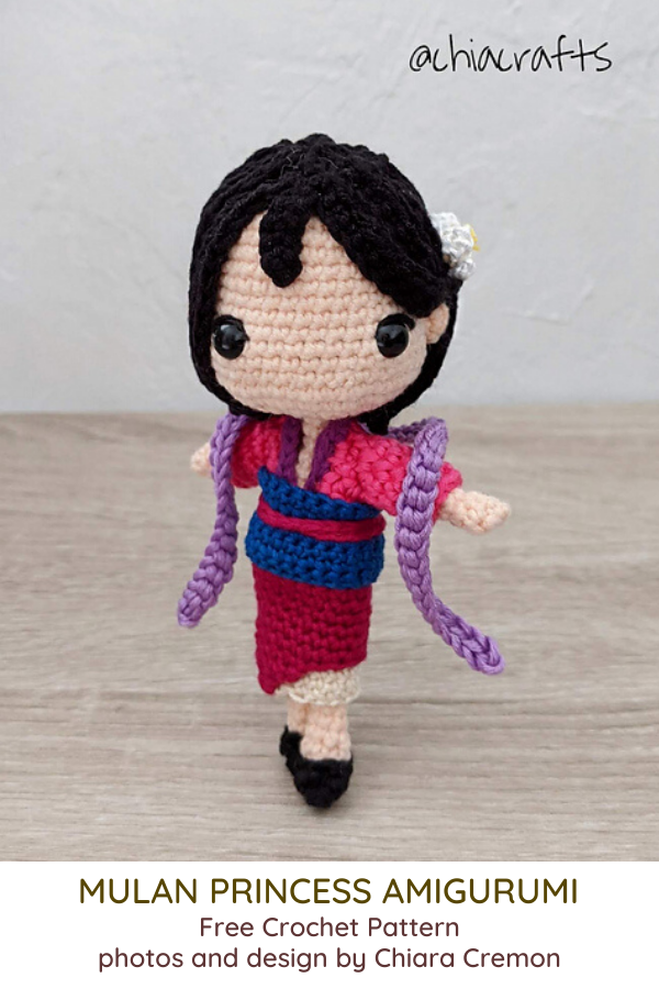 Mulan Princess Amigurumi Is Adorable!