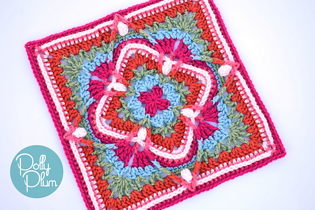 Fabulous Crochet Afghan Square Pattern