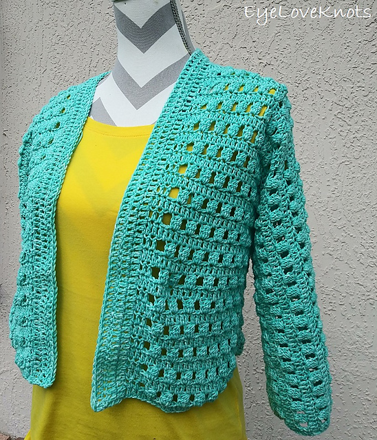 Crochet Cropped Cardigan Pattern To Make You Stand Out From The Crowd