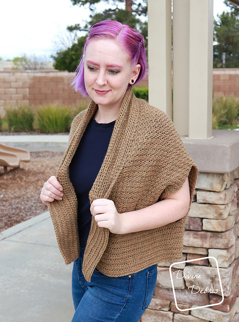 Very Fast Crochet Cardigan Free Pattern
