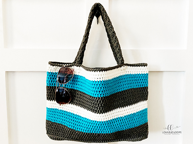 Easy Crochet Tote Bag Pattern For Summer