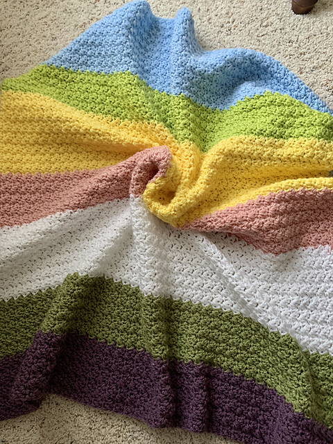 Beautiful Elegant Baby Blanket
