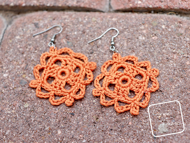 Easy Crochet Earrings For Spring