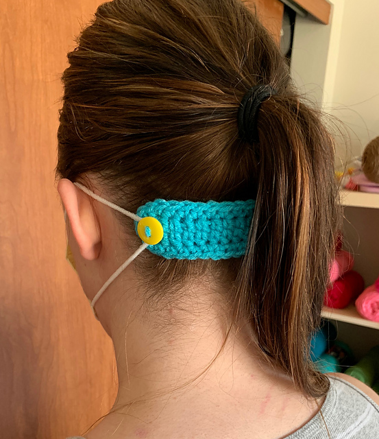 This Mask Mates Free Crochet Pattern Is A Super Quick Cotton Stash Buster