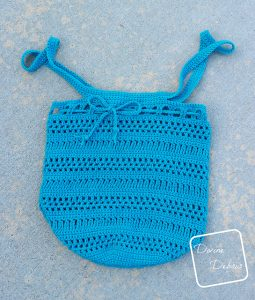 Super Simple Market Bag Free Crochet Pattern