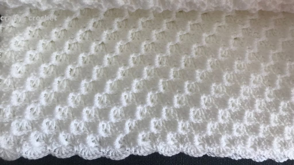 Easy Corner To Corner Crochet Blanket Pattern For Beginners