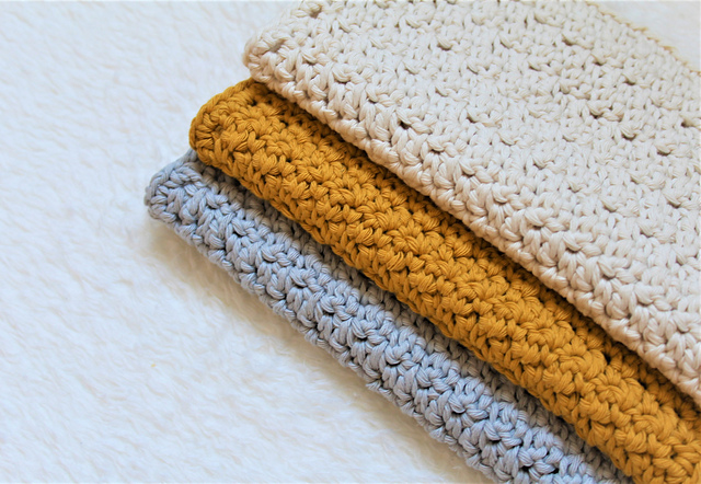 Easy Dishcloth Crochet Pattern