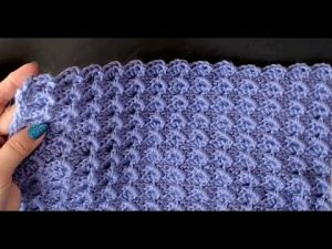 Ocean Waves Free Crochet Baby Blanket Pattern