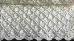 Easy Light Baby Blanket Crochet Pattern
