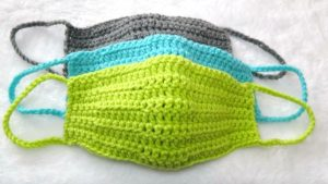 Quick And Easy Crochet Face Mask Pattern