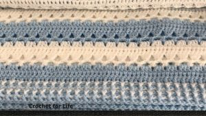 Unique Quick And Easy Crochet Baby Blanket Pattern (Video Tutorial)
