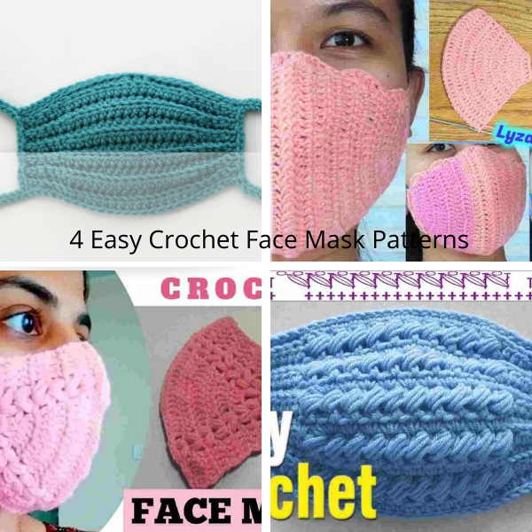 4 Easy Crochet Face Mask Patterns