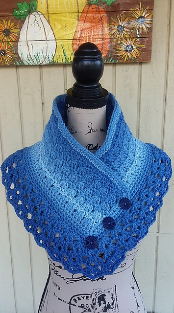 Beautiful Crochet Cowl Neck Warmer Free Pattern