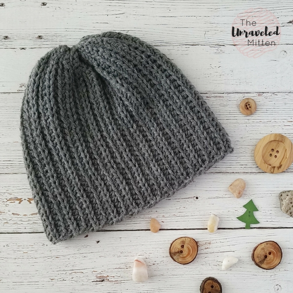 The Superior Beanie- 5 Easy Free Crochet Hat Patterns For Men